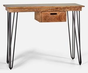 bureau d'ordinateur en bois