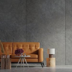 fauteuil en cuir pleine fleur dans un salon